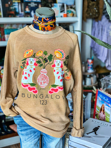Bungalow 123 Foo Dog Sweatshirt