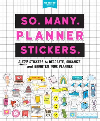 So. Many. Planner. Stickers.