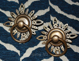 Vintage Brass Ornament Pulls - Bungalow 123 - 1