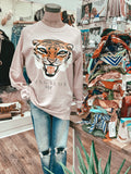 Bungalow 123 Blush Tiger Sweatshirt
