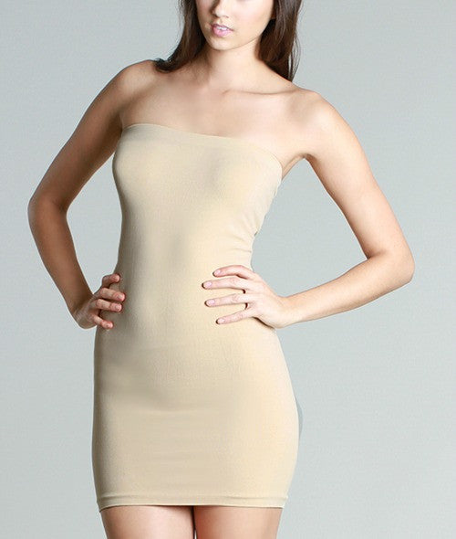 B123 Seamless Tube Dress - Multiple Colors - Bungalow 123 - 1