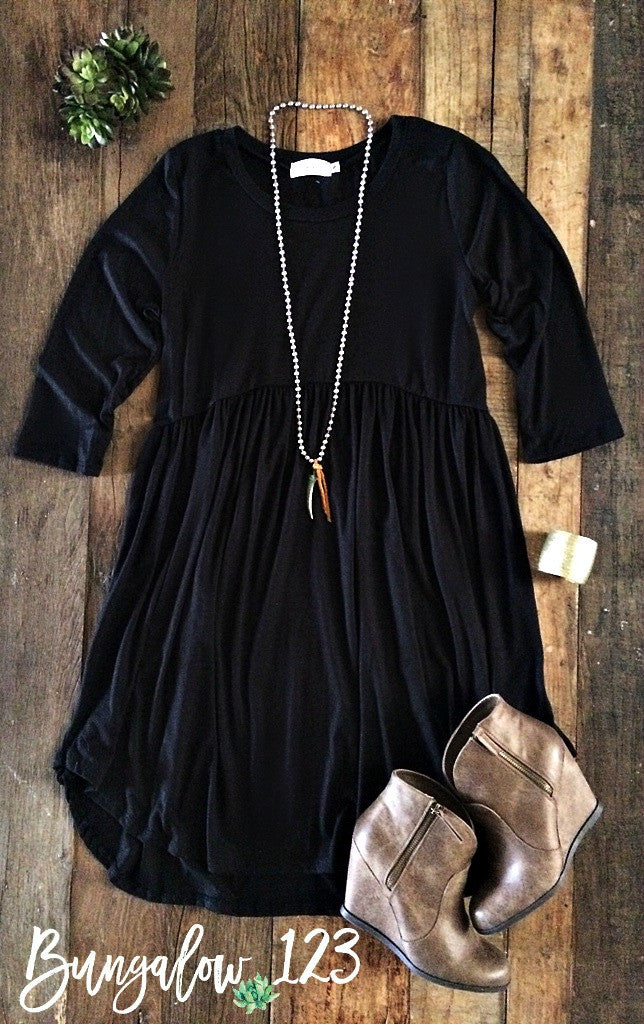 Locken Dress - Black - Bungalow 123 - 1