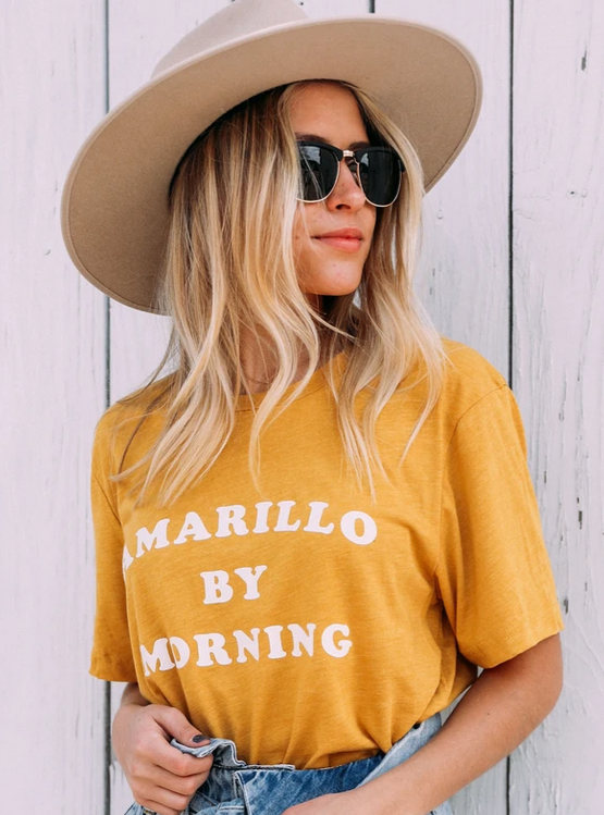 Amarillo by Morning Tee