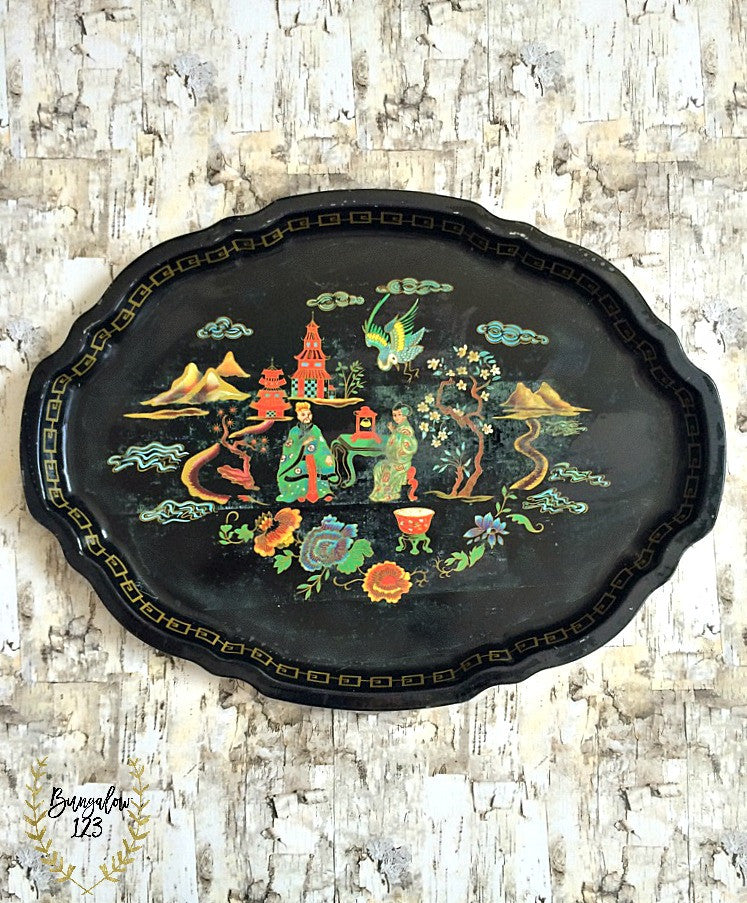 Vintage Tray - Bungalow 123 - 1