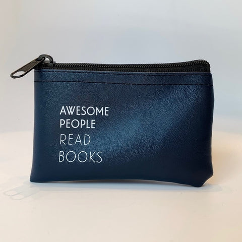 Awesome People Read Books Zip Pouch