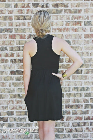Carlyle Dress - Black