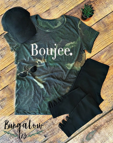 The Boujee. Tee