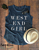 West End Girl Slub Tee
