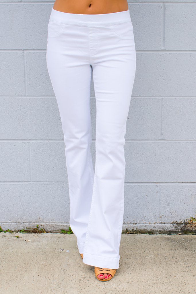 "Harlowe Petite Flare Jeggings (30"" inseam) - Multiple Colors"
