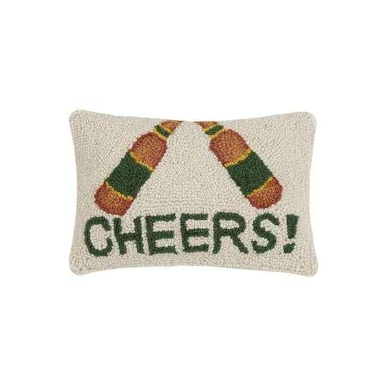 Cheers! Hook Pillow