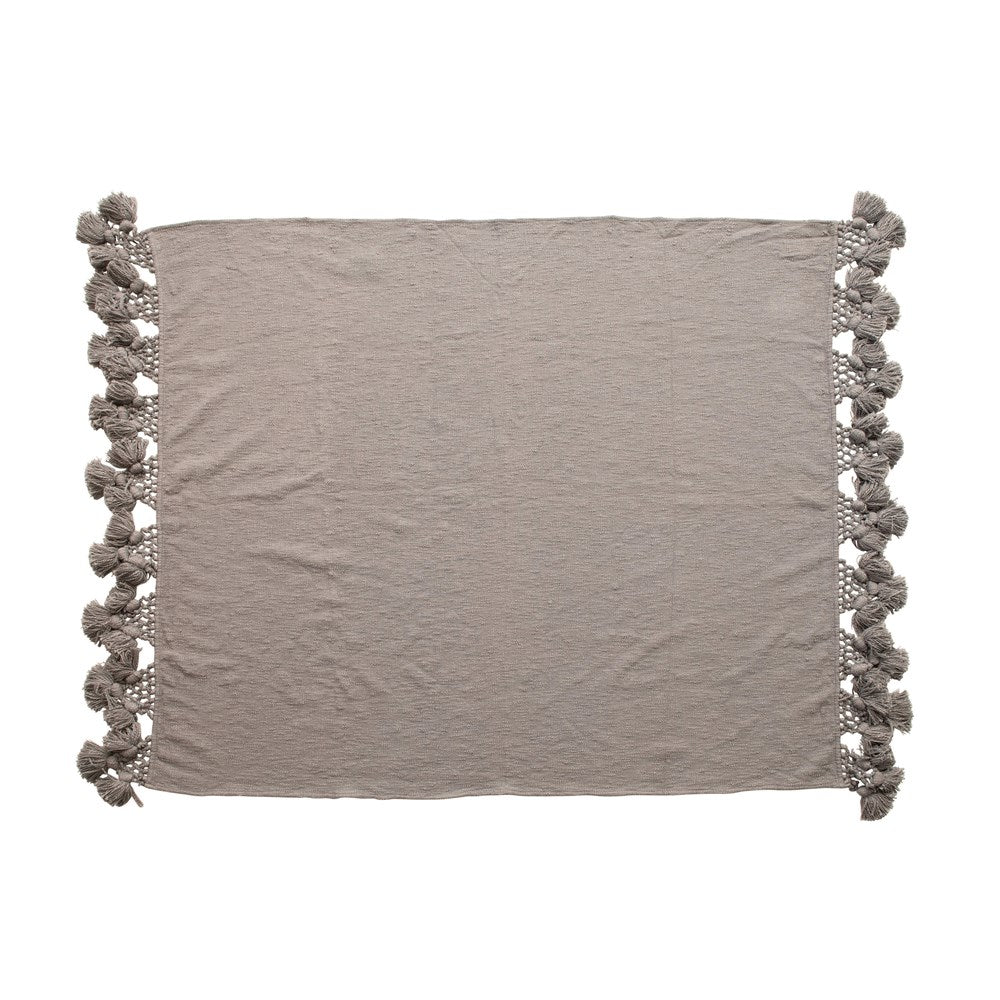 Cotton Blend Throw