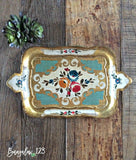 Vintage French Provincial Tray - Bungalow 123 - 1