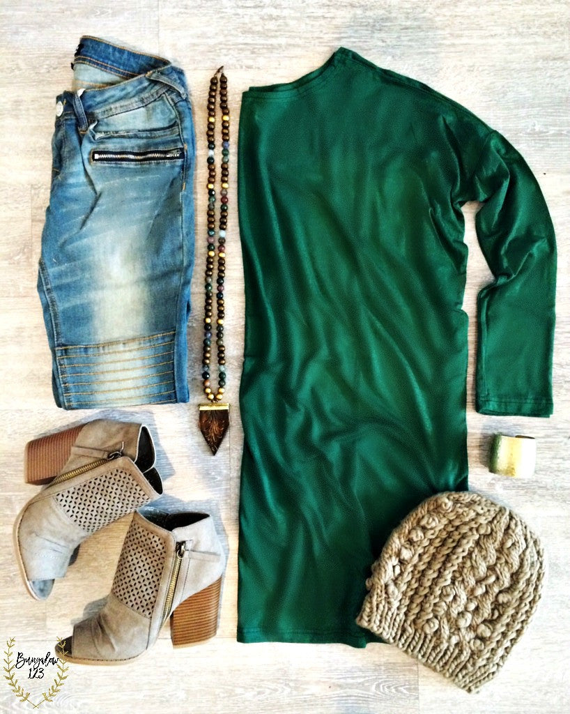 Piko Tunic - Forest Green - Bungalow 123 - 1