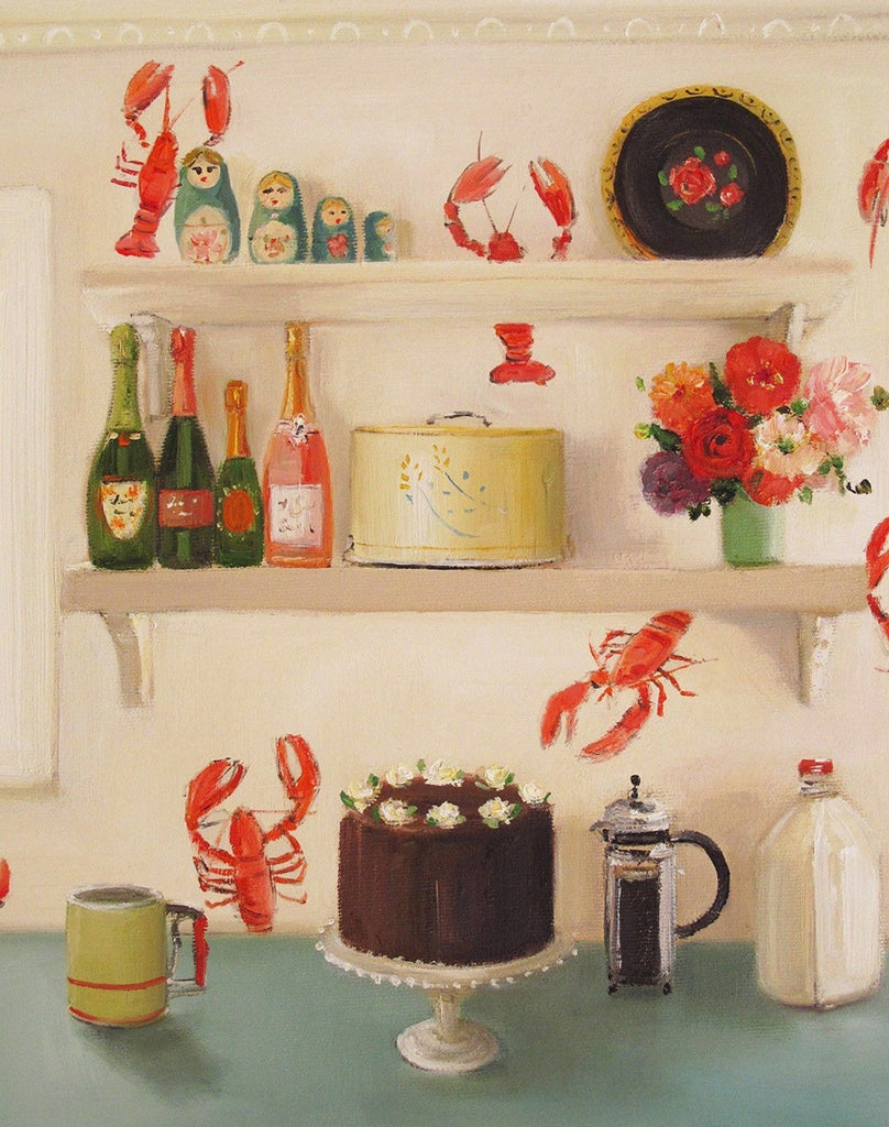 The Devil's Food Cake - Janet Hill Studio Art Print