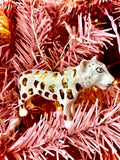 Polka Dot Leopard Ornament