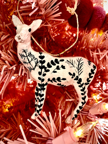 Moonlit Deer Ornament - Assorted