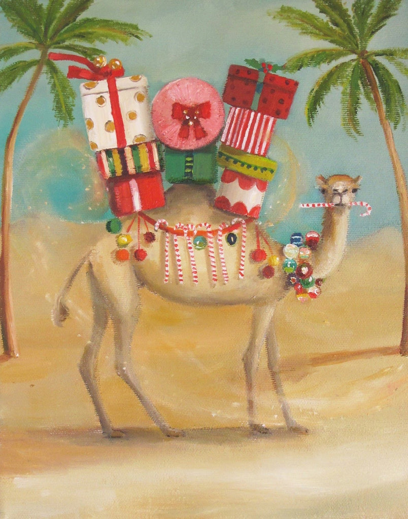 The Christmas Camel - Janet Hill Studio Art Print