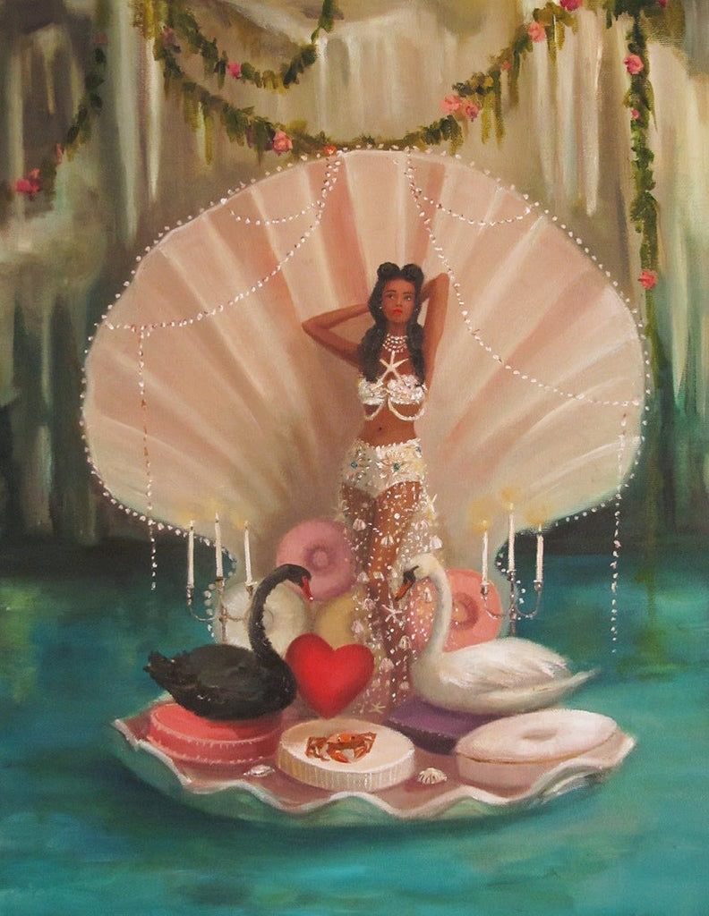 Venus in Her Lair - Janet Hill Studio Art Print