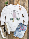 Bungalow 123 Pink Door Sweatshirt