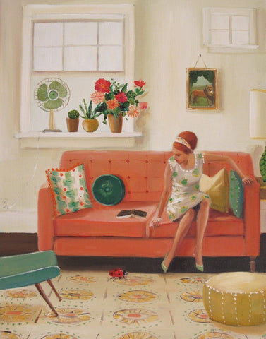 Great Ladybug - Janet Hill Studio Art Print