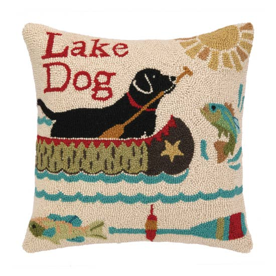 Lake Dog Pillow