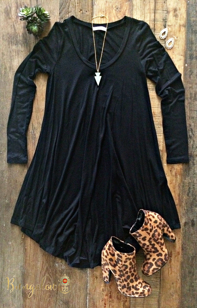 Kodie Dress - Black - Bungalow 123 - 1