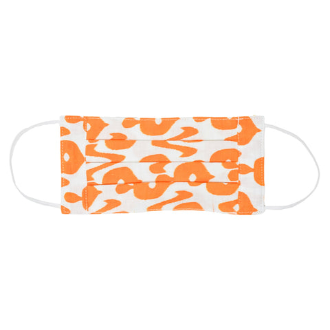 Adult Face Mask - Mango Ikat