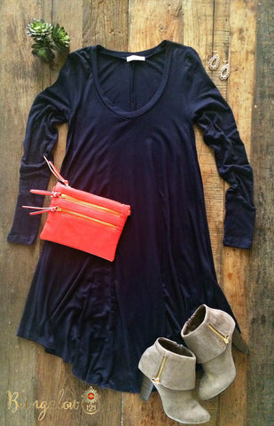 Kodie Dress - Navy