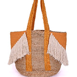 Old Gold Fringe Bag