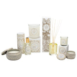 Voluspa Suede Blanc Candle Collection