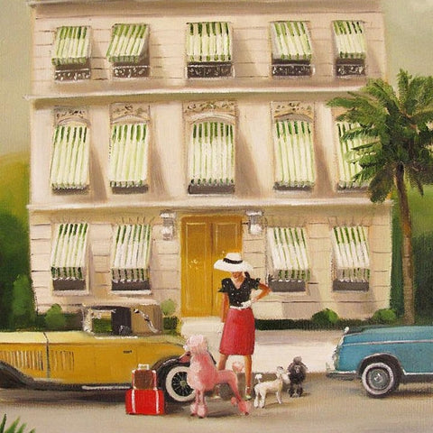 That Summer in Monte Carlo - Janet Hill Studio Art Print