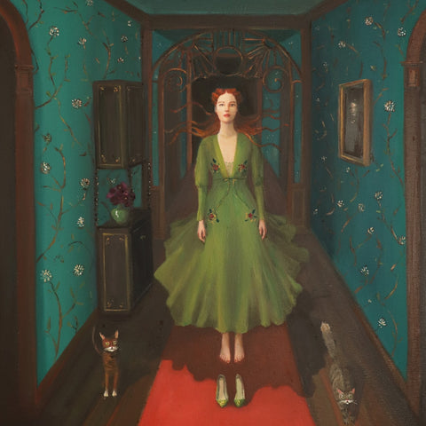 The Haunting of Harlow Hall - Janet Hill Studio Art Print