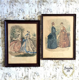 Vintage La Mode Illustree Framed Prints