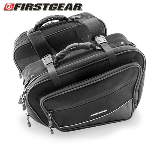 First Gear Onyx Saddle Bags