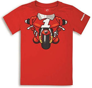 Ducati Little Rider T-Shirt Red