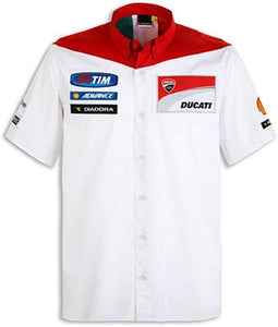 Ducati Men's GP15 Replica Button-Down Shirt 987691917