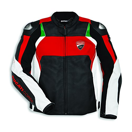 Ducati Corse C3 Perforated Leather Jacket