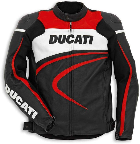 Ducati Perforated Sport C2 Leather Riding Jacket 9810303