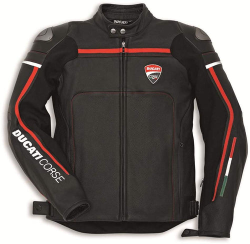Ducati Corse C2 Leather Riding Jacket