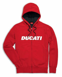 Ducati Ducatiana Zip-Up Hooded Sweatshirt 987693324