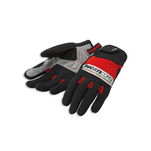 Ducati Corse Pitlane 2 Textile Mechanics Glove by Spidi 981028287