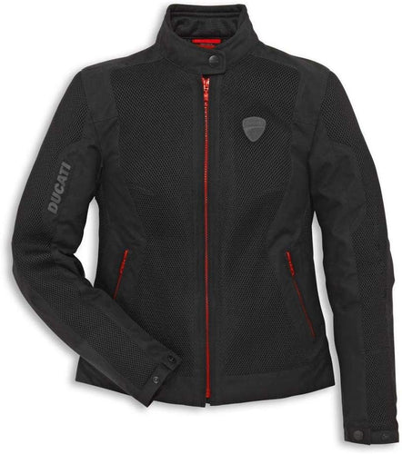 Ducati Fabric Jacket Flow 2 Textile Mesh - Women's 981027964