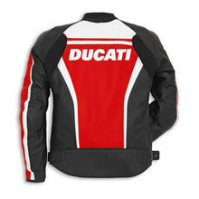 Load image into Gallery viewer, Ducati Perforated Sport C2 Leather Riding Jacket 981030250