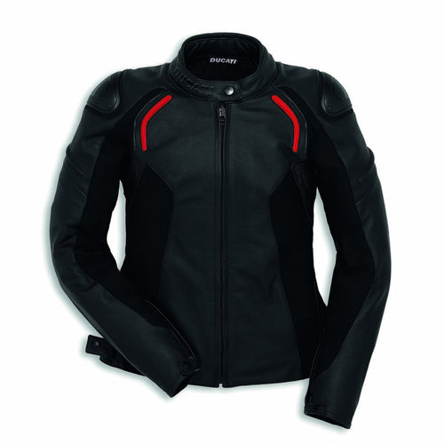 Ducati Women's Stealth C2 Leather Jacket 98103204