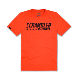 Ducati Scrambler Orange Flip T-shirt 98769450