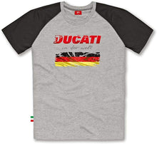 Load image into Gallery viewer, Ducati Men's Flag T-Shirt Germany