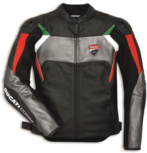 Load image into Gallery viewer, Ducati Corse C3 Perforated Leather Jacket 981037652