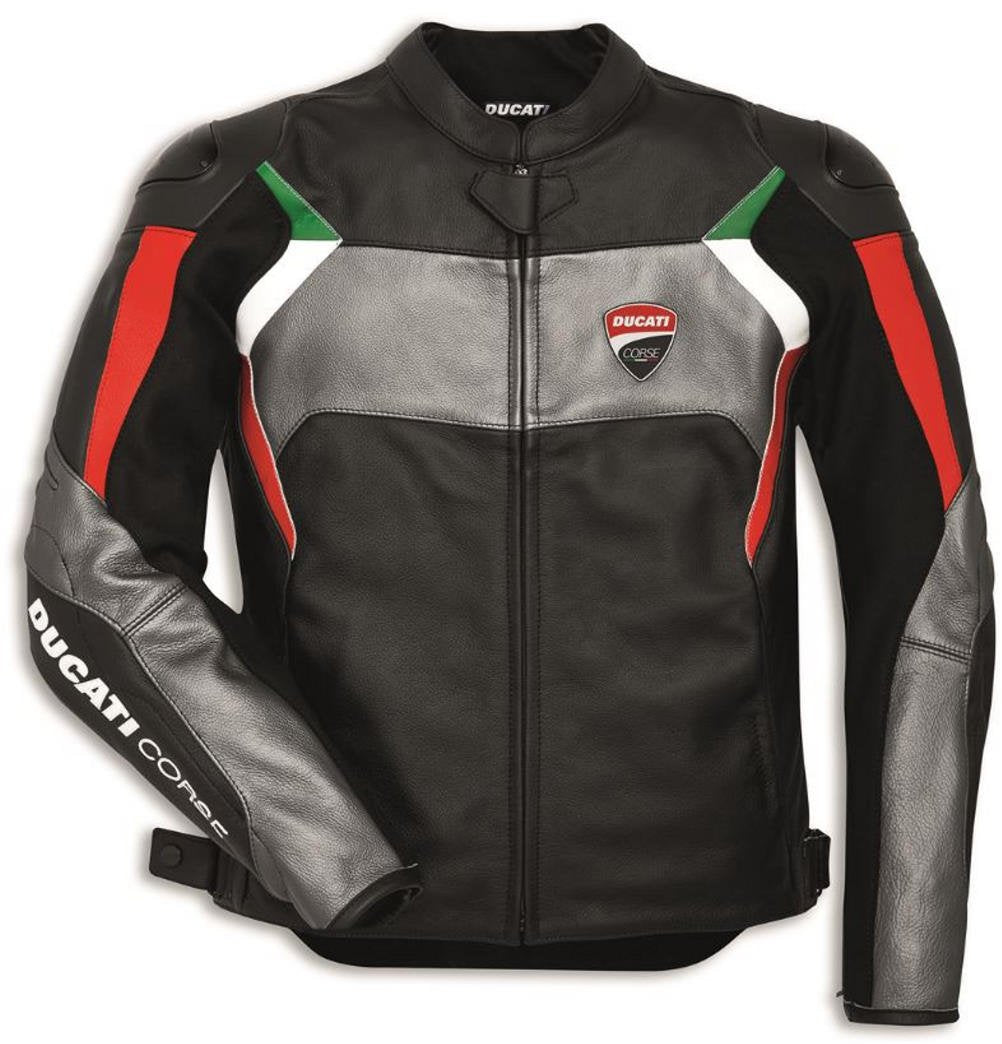 Ducati Corse C3 Perforated Leather Jacket 981037652