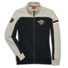 Load image into Gallery viewer, Ducati Meccanica Full Zip Womens Sweatshirt 98769347