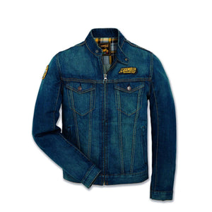 Ducati Scrambler Trucker Patch Denim Jacket 981033806
